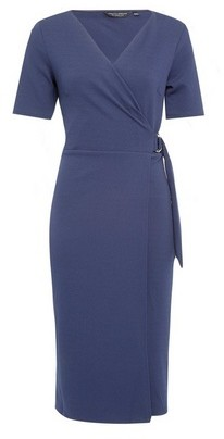 Dorothy Perkins Womens Navy Short Sleeve D