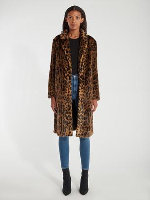 Unreal Fur The Long Weekend Faux Fur Coat
