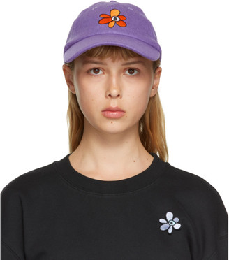 Perks And Mini Purple Wool U.G. Gesture Cap