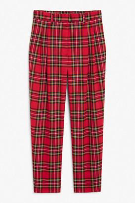 Monki Straight leg trousers