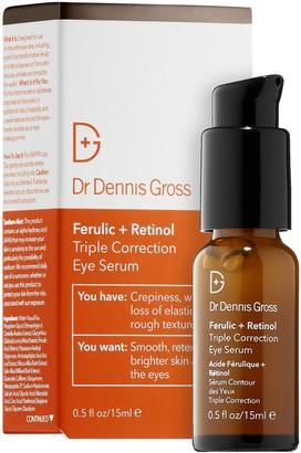 Dr. Dennis Gross Skincare Ferulic + Retinol Triple Correction Eye Serum
