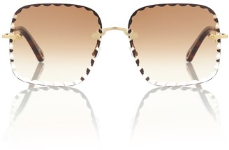 Chloé Rosie square sunglasses