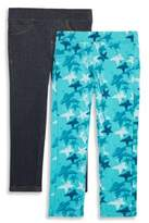 Vigoss Little Girl's Two-Pack Legging Set
