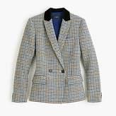 J.Crew Petite dover blazer in houndstooth wool