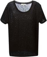 IRO short sleeve T-shirt - women - Linen/Flax - XS