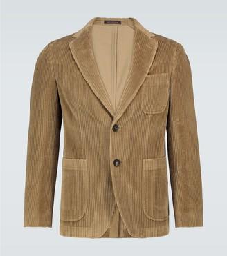 Thegigi Angie single-breasted corduroy blazer