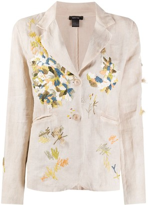 Avant Toi Embroidered Blazer