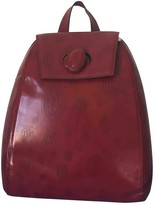Cartier Burgundy Leather Backpacks