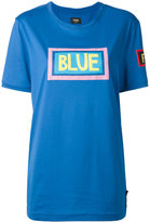 Fendi Blue print T-shirt