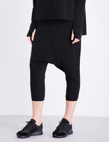 Y-3 Sport Approach dropped-crotch shell trousers
