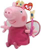 Peppa Pig Ty Princess Beanie Baby, 15cm