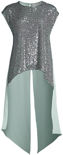Sachin + Babi Marie Embellished High-Low Blouse