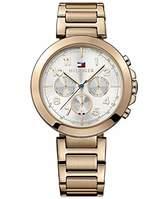 Tommy Hilfiger Women's 1781452 Rose- Stainless-Steel Analog Quartz Watch