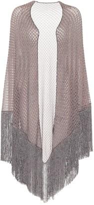 Missoni Fringed shawl