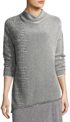 Nic+Zoe Frosted Fall Asymmetric Top