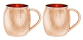 Old Dutch Hammered Moscow Mule Mugs (Set of 2)