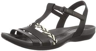 Clarks Women's Tealite Grace Sandals, Black (Black Leather), (41.5 EU)