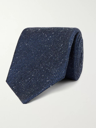 Kiton 9cm Melange Silk Tie