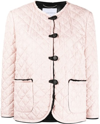 Ermanno Scervino Quilted Leather Jacket