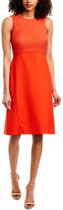 Piazza Sempione Silk-Blend Sheath Dress
