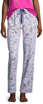 SLEEP CHIC Sleep Chic Printed Knit Pajama Pants