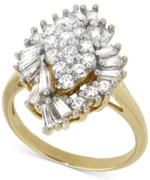 Wrapped in Love Diamond Cluster Ring (1 ct. t.w.) in 14k Gold, Created for Macy's