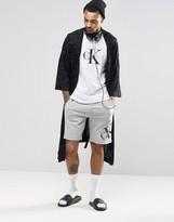 Calvin Klein Lounge Shorts Logo In Slim Fit