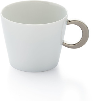 Bernardaud Ecume Platinum Teacup