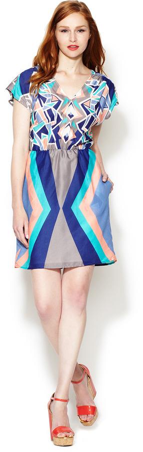 Corey Lynn Calter Marni V-Neck Dress