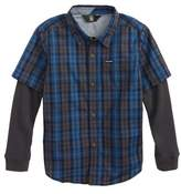 Volcom Ignition Layered Woven Shirt