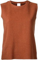 CITYSHOP crew neck tank top - women - Acrylic/Nylon/Polyurethane/Wool - One Size