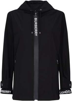 Burberry Econyl Logo Tape Hooded Jacket