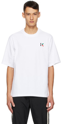 Kenzo White Oversized K Logo T- Shirt