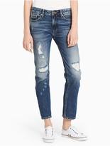 Calvin Klein Jeans Slim Boyfriend Fit Indigo Jeans