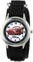 Disney Kids' W000093 Cars Stainless Steel Time Teacher Watch