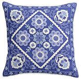 Cupcakes & Cashmere Blue Frame Square Pillow