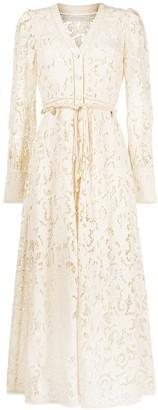 Zimmermann Freja embroidered dress