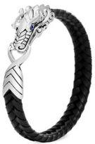 John Hardy Legend Woven Leather Bracelet