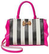 Betsey Johnson Flouncin Around Top Handle Bag