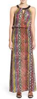 Ella Moss Wonderlust Sleeveless Silk Maxi Dress