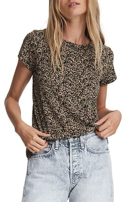 Rag & Bone Floral Camo T-Shirt