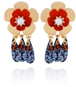 Nanette Lepore Flower Drop Earring