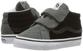 Vans Kids Sk8-Mid Reissue V Castor Gray/Black) Boys Shoes