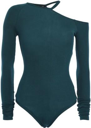 Alix Cutout Ribbed Stretch-modal Jersey Bodysuit