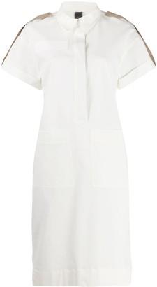 Lorena Antoniazzi rolled-sleeve shirt dress