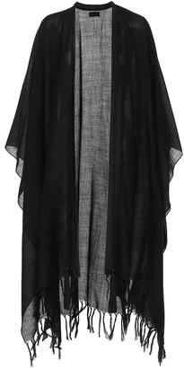 Saint Laurent Wool poncho