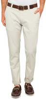 STUDIO W Stretch Cotton Slim Chinos