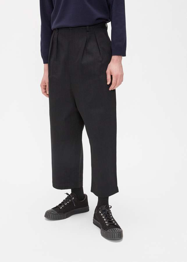 Comme des Garcons Homme Drill Pleated Trouser