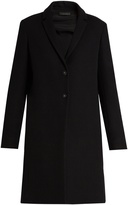 The Row Brooxi wool-twill coat