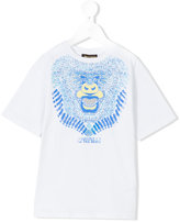 Roberto Cavalli monkey print t-shirt - kids - Cotton/Elastodiene - 4 yrs
